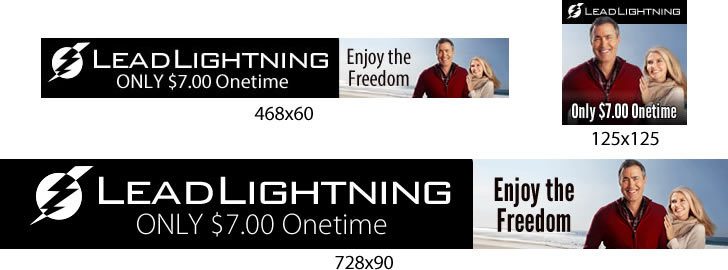 get free lead lightning banner power lead system unofficial